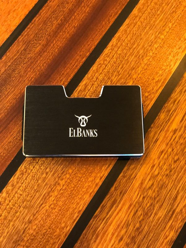Elbanks Money Clip - Blue